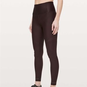 Lululemon In Focus Run Tight Plum Shadow 12